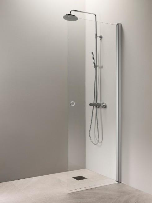 PURO 3 suihkuseinä | matta-alumiini