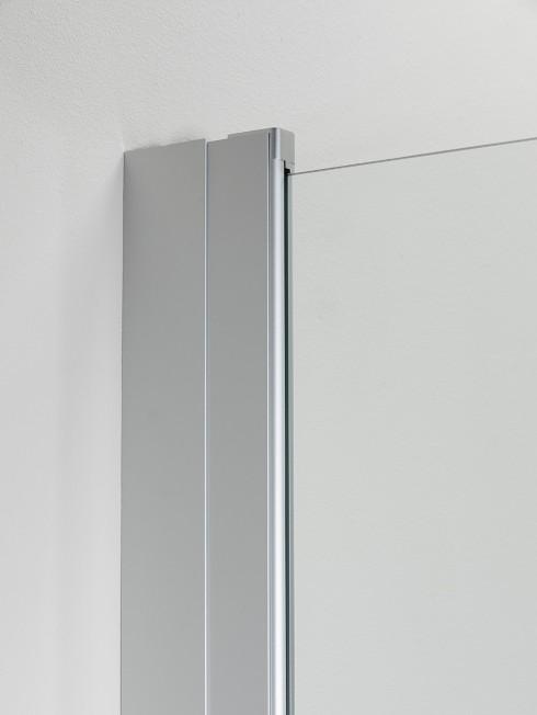 Levennysprofiilit 63 ja 73 mm sekä kiinteä PURO suihkuseinä