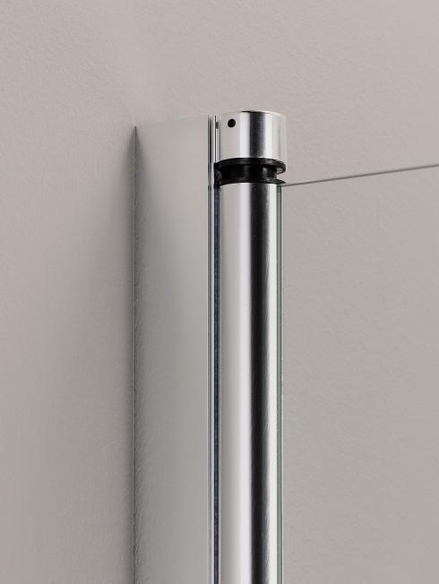 PURO kääntyvä seinäprofiili   kiiltävä alumiini