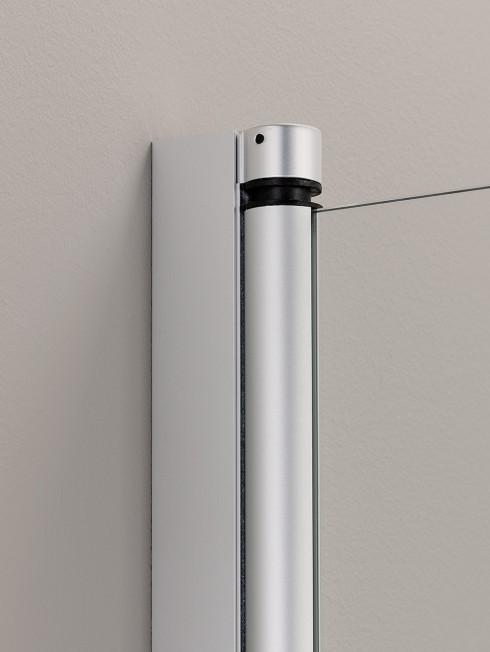 PURO kääntyvä seinäprofiili | matta-alumiini