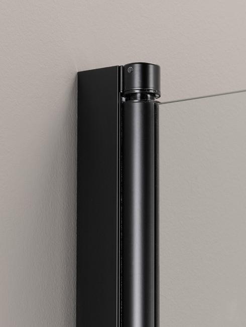 PURO kääntyvä seinäprofiili | musta