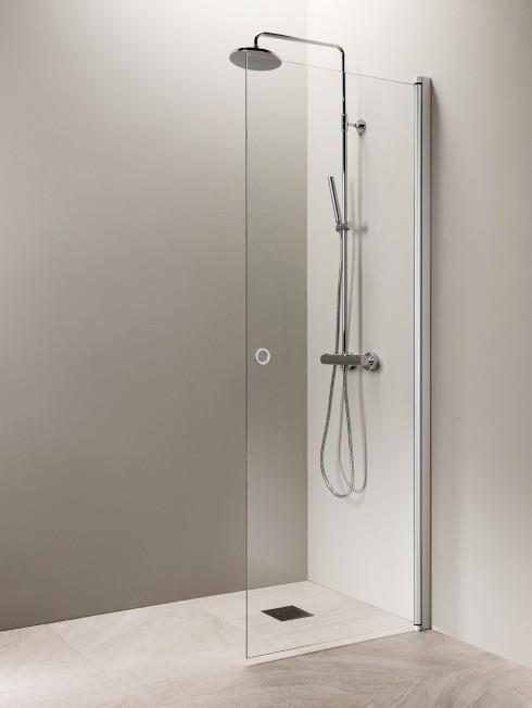 PURO 3 suihkuseinä | matta alumiini