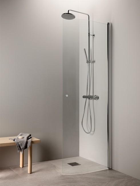 PURO 4 suihkuseinä | kaareva