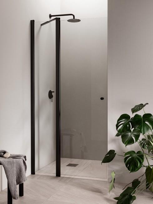 PURO 8 suihkuseinä | musta