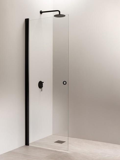 PURO 3 suihkuseinä | musta | nuppivedin