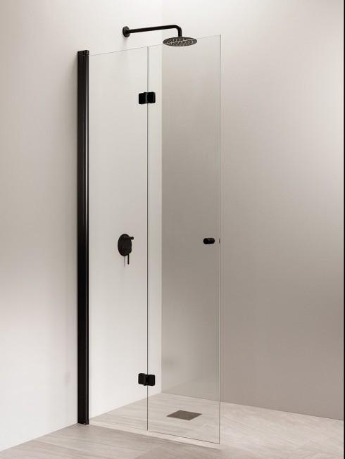 PURO 5 suihkuseinä | taittuva | musta