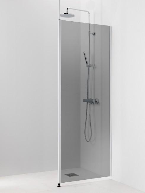 PISARA1 suihkuseinä | harmaa lasi